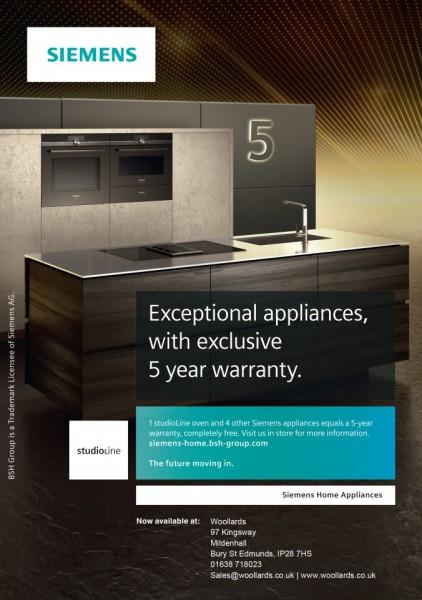 Siemens 5 Year Warranty